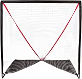 Trademark Innovations 6' Backyard Portable Lacrosse Goal with Carry Bag