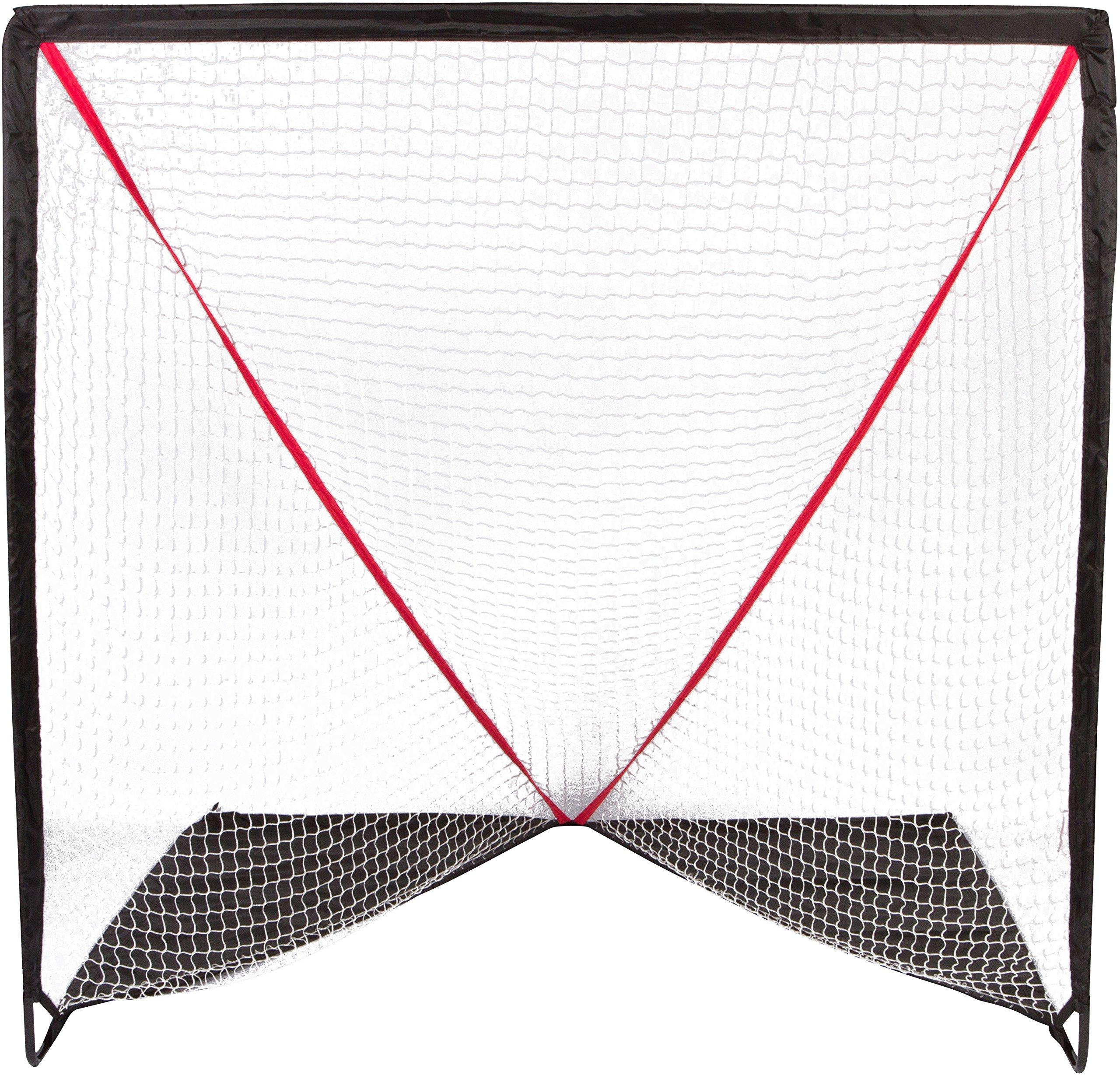Trademark Innovations 6' Backyard Portable Lacrosse Goal Carry Bag