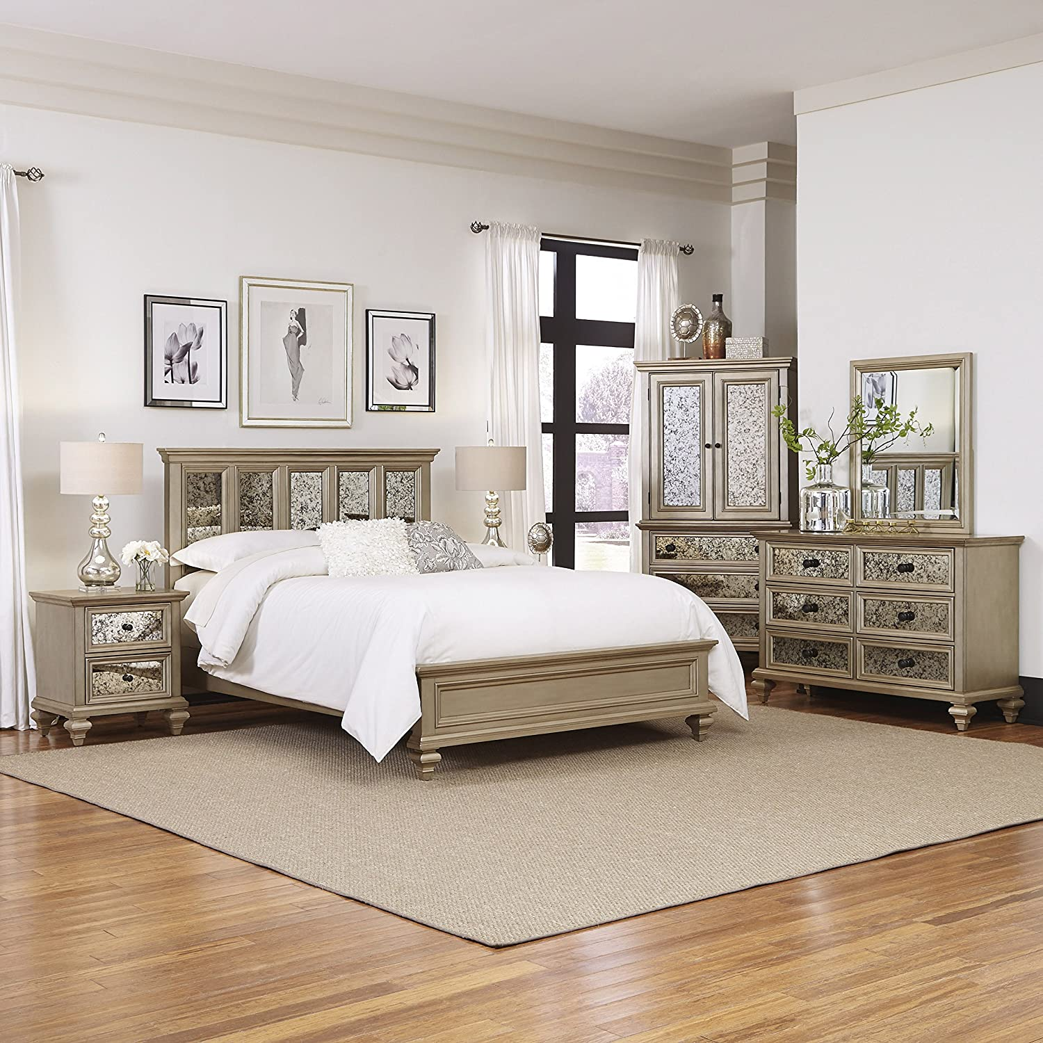 Beautiful Amazon.com: Home Styles Visions 5 Piece King Bedroom Set: Kitchen U0026 Dining