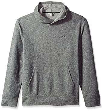 904d3bf94663 Calvin Klein Jeans Men s Brushed Cozy Crossover Hoodie at Amazon Men s  Clothing store