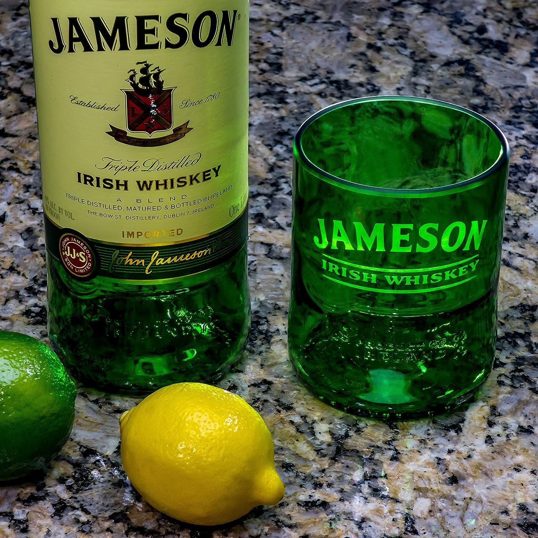 Jameson Irish Whiskey PREMIUM Rocks Glass - Ultimate Gift for Jameson Lover LiquorWare