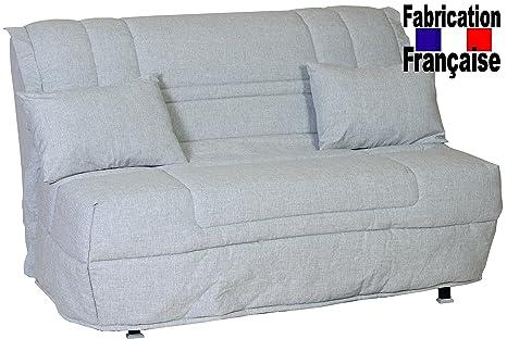 Meublepro BZ 140 x 190 - Sofá cama (colchón Bultex)