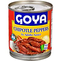 Goya Foods Chiles Chipotles, 7-Ounce (Pack of 12)