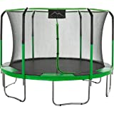 "SKYTRIC Trampoline with Top Ring Enclosure System equipped with the ""EASY ASSEMBLE FEATURE"""
