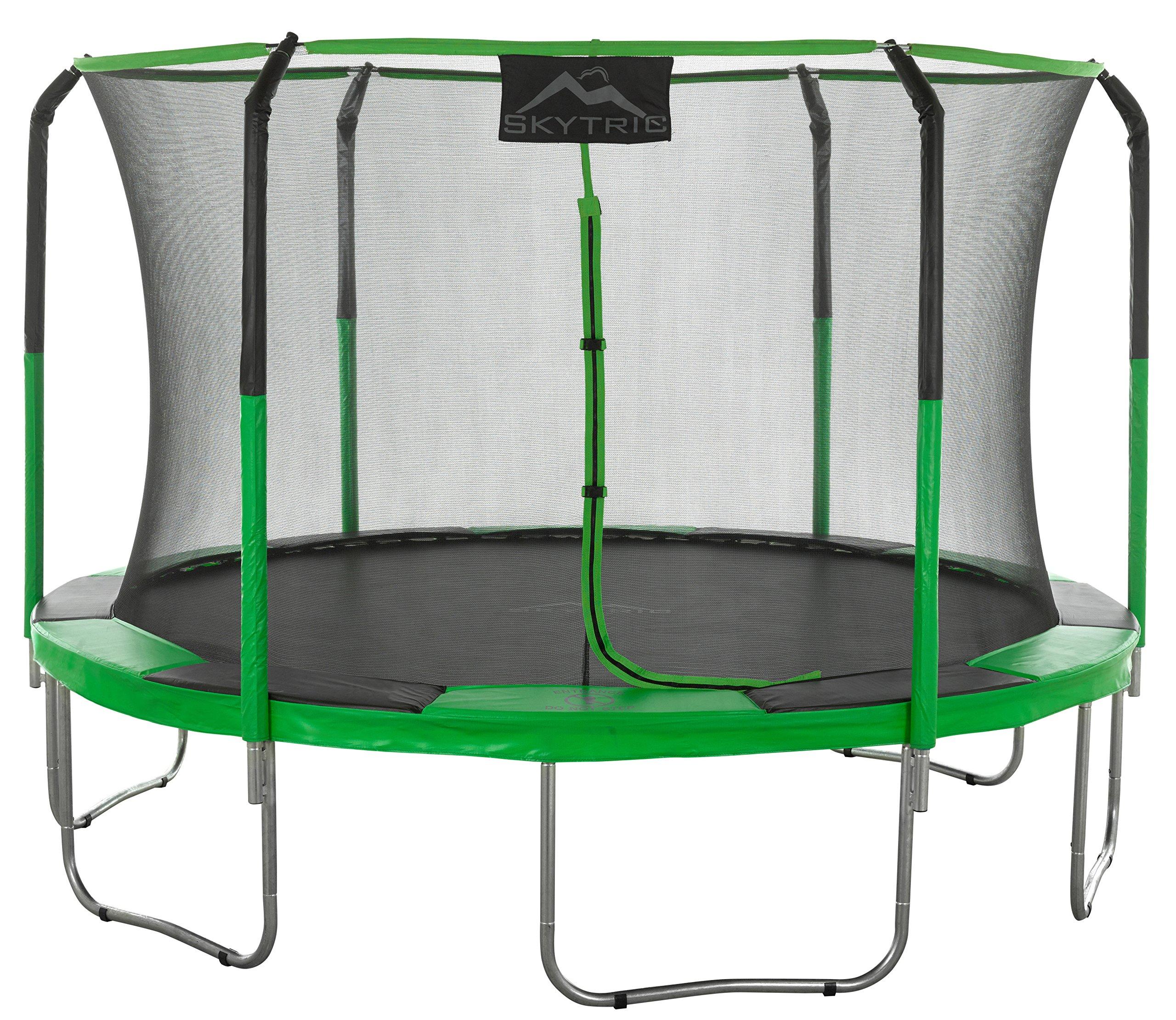 SKYTRIC Trampoline & Enclosure Set, 11'