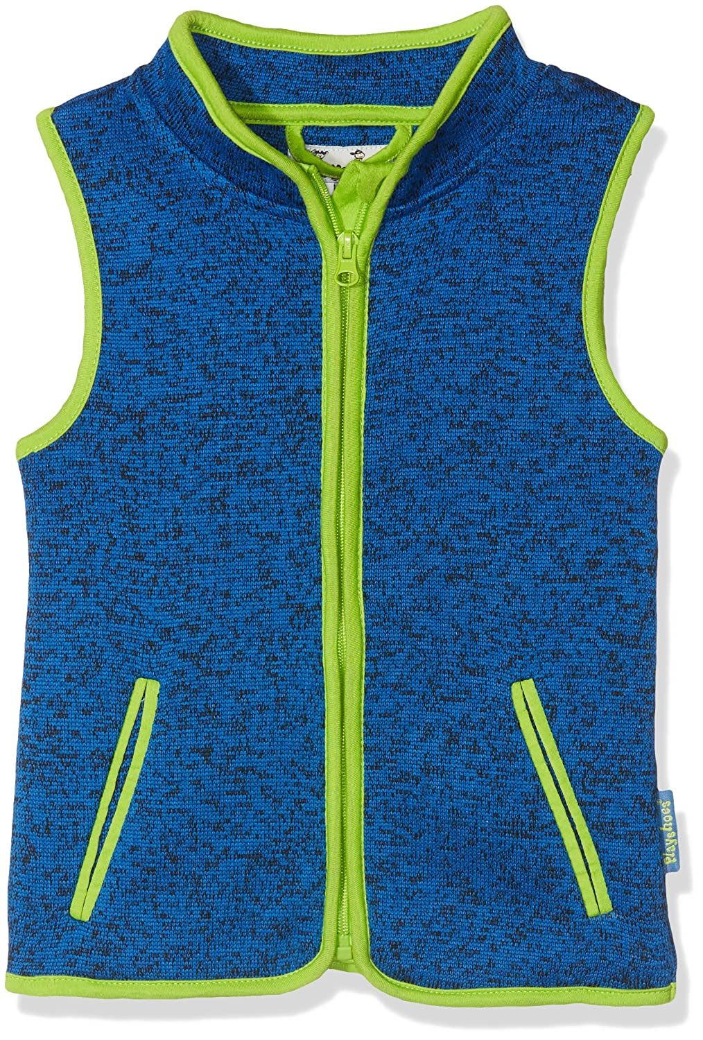 Playshoes Boy's Kids Full Zip Knitted Fleece Gilet 420102