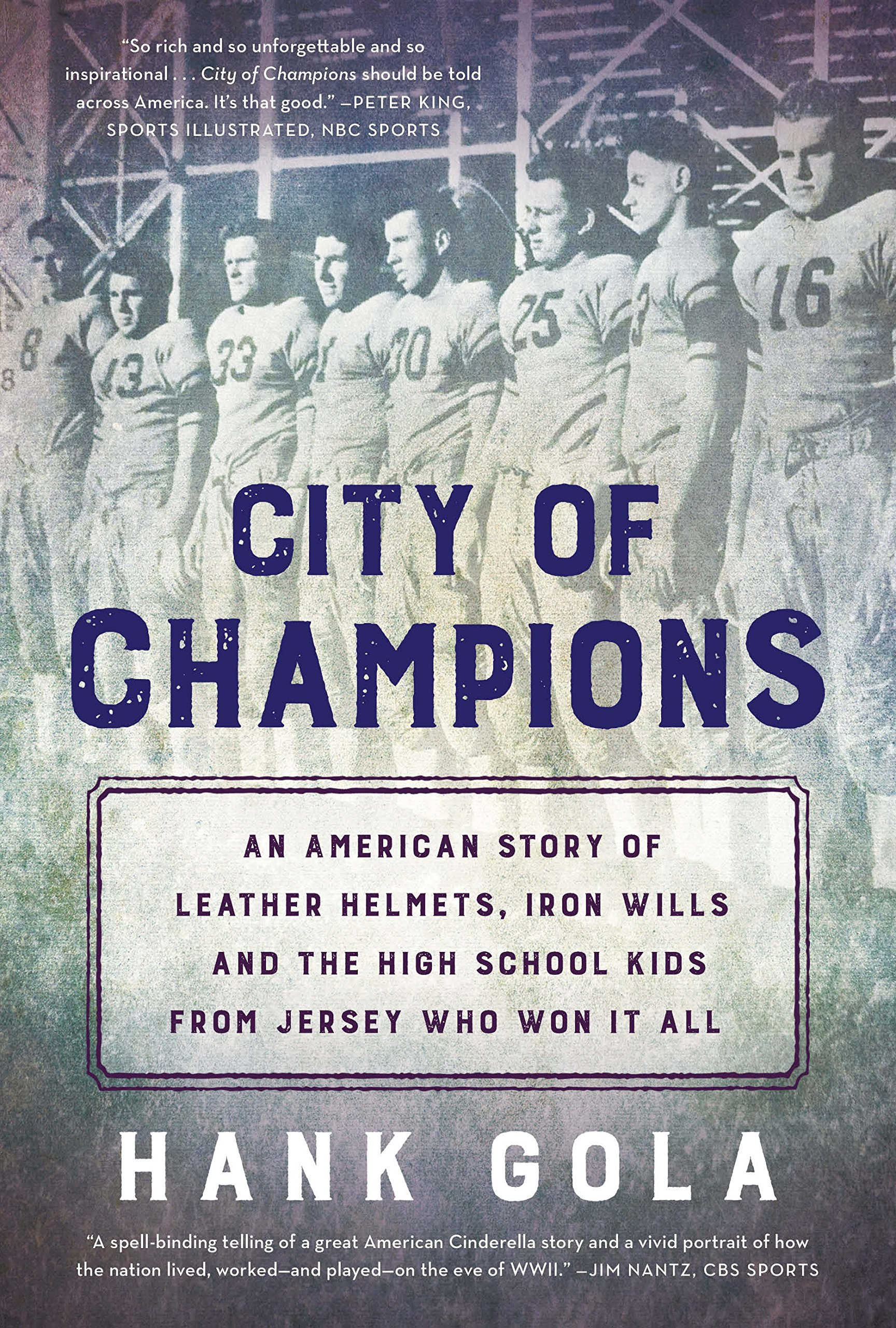 Image result for City of Champions by Hank Gola