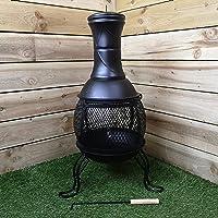Gartenkamin Redwood XXL schwarz Garden Oven