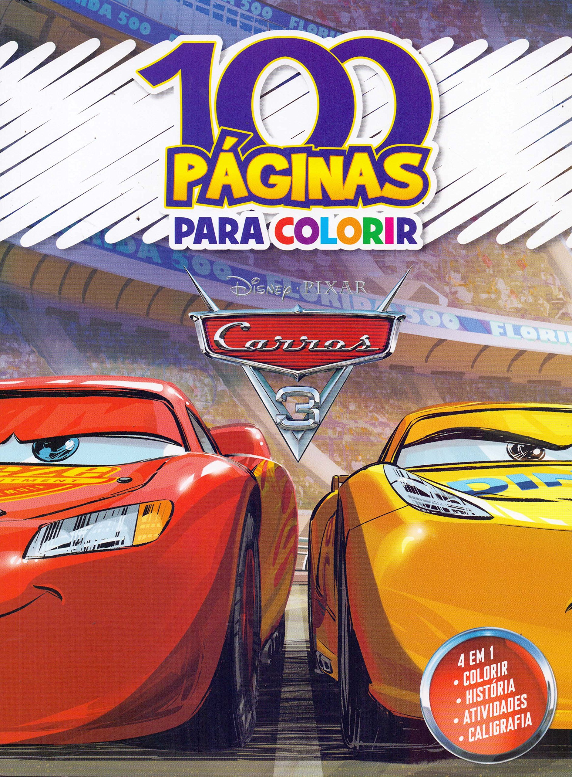 100 Paginas Para Colorir Disney Carros 3 Jefferson Ferreira