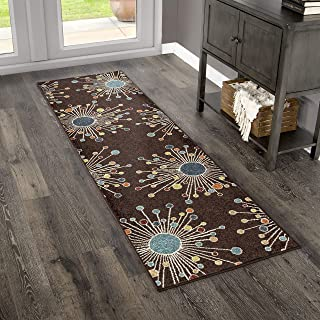 "product image for Orian Rugs 2319 Veranda Indoor/Outdoor Retro Fit Runner Rug 2'3"" x 8' Brown"