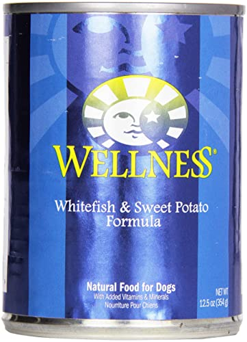Wellness, Dog Food Fish Potato 12.5 oz