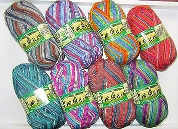 8 x 100 g // Pate de Mouton 11 la Sagesse des Moutons. Opal//Laine//Laine /à Chaussettes//4 Plis//Fil