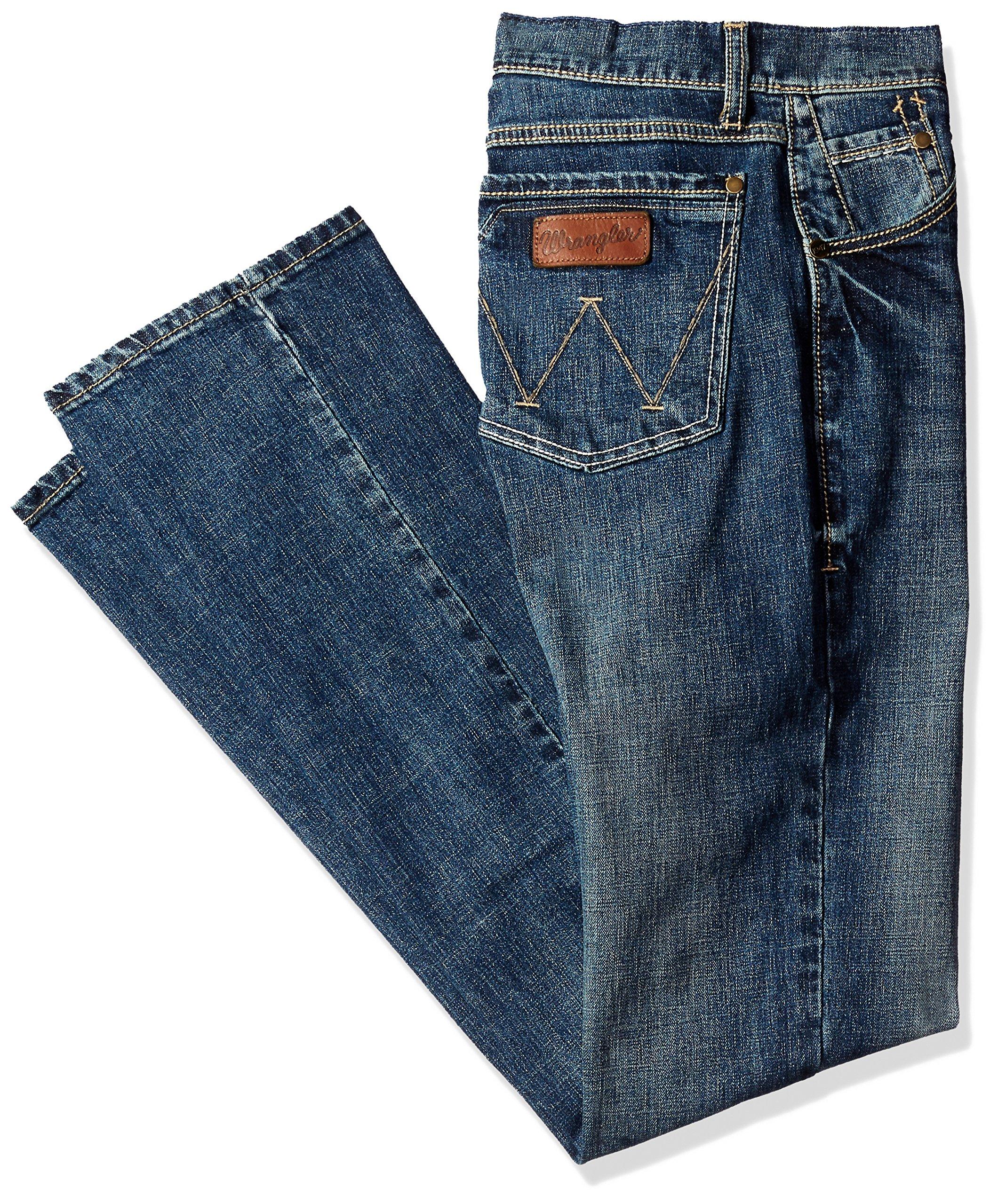 Wrangler Men's Tall Size Retro Slim Fit Boot Cut Jean, Layton, 34x38