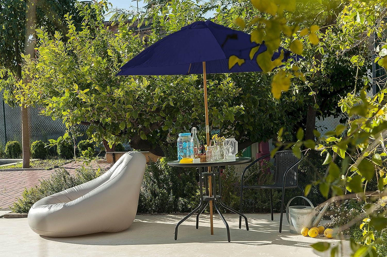 Muebles Y Accesorios De Jardín Habita Home Parasol De Madera