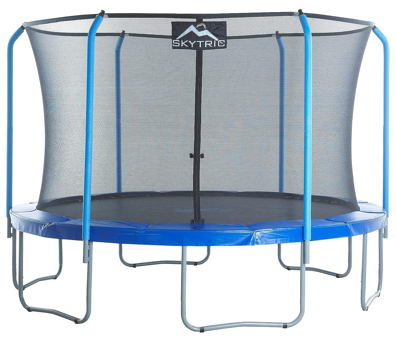 Skytric Round Trampoline Set