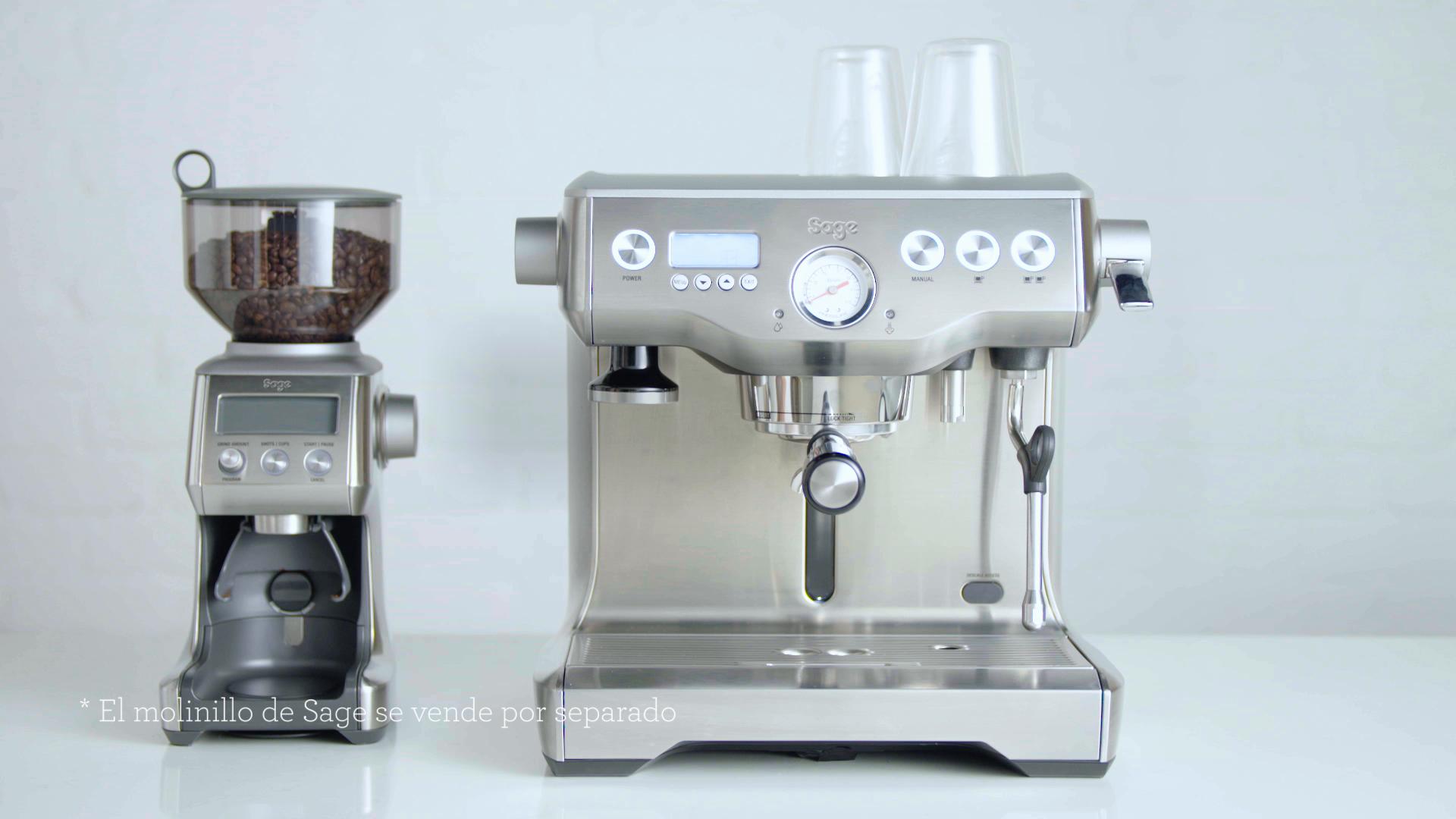 Sage Appliances BES920, Máquina de café espresso sin molinillo, Acero inoxidable cepillado: Amazon.es: Hogar