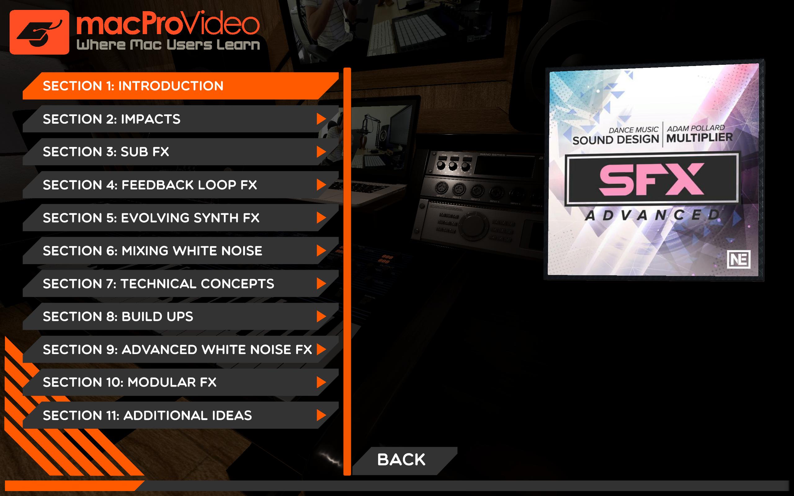 Adv Sfx Course For Sound Design By Mpv Amazones Appstore