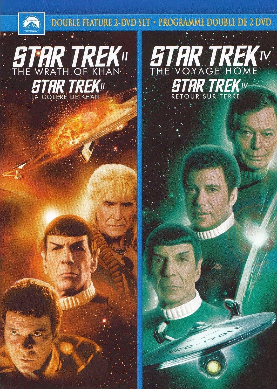 Star Trek II: The Wrath of Khan / Star Trek IV: The Voyage Home (Double Feature)