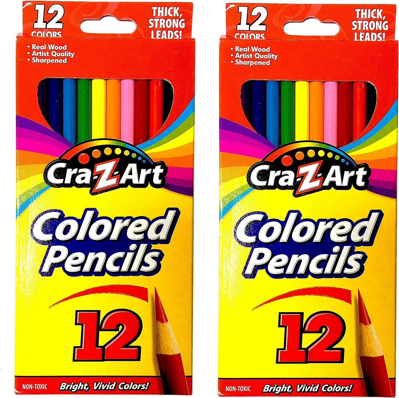 12 Count Cra-Z-art Colored Pencils 10404