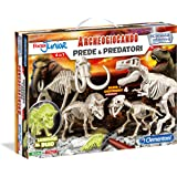 Clementoni 13196 - Focus Junior Archeogiocando Kit Scientifico Prede e Predatori