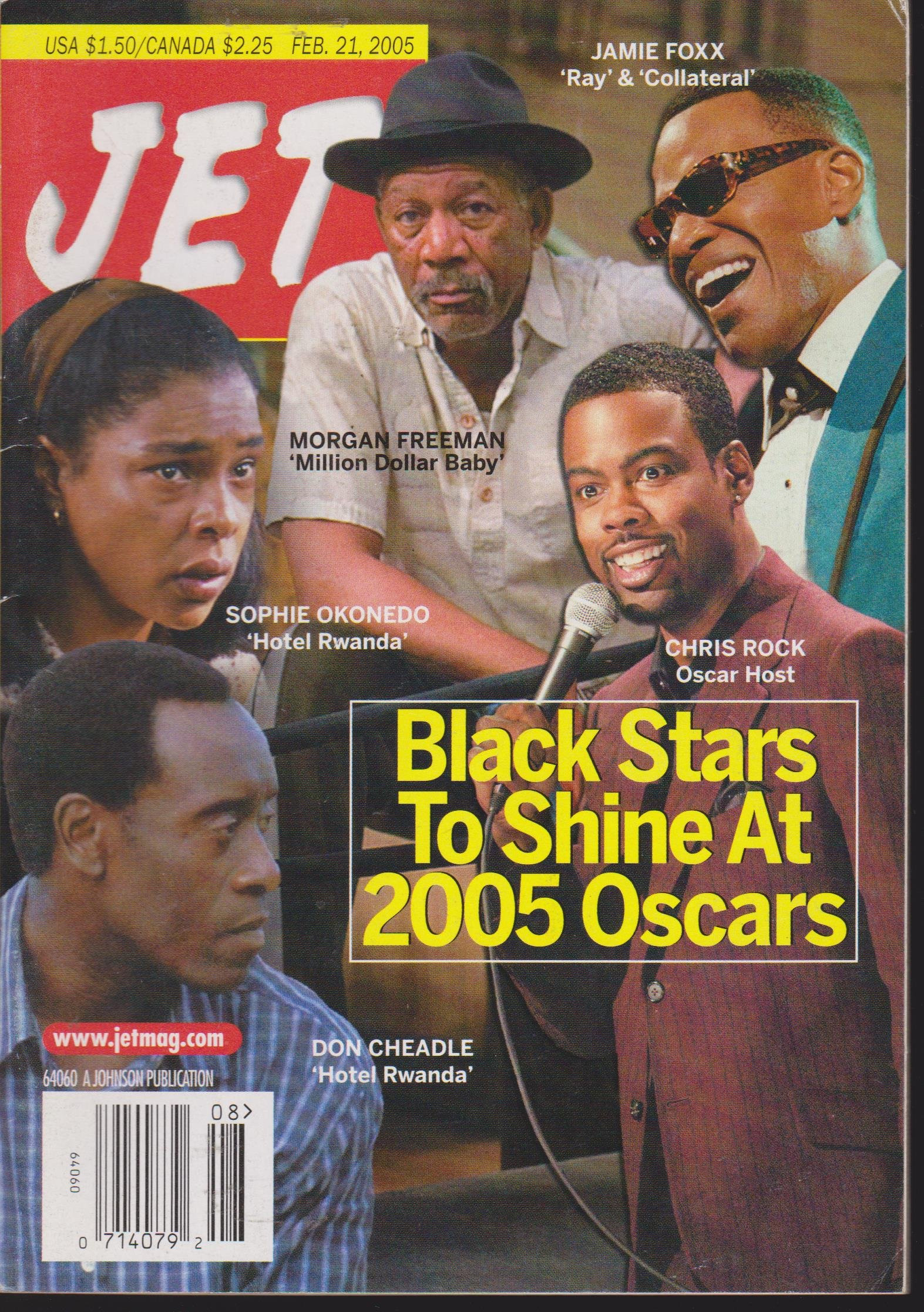 Download JET MAGAZINE FEBRUARY 21, 2005 *BLACK STARS AT THE 2005 OSCARS* PDF