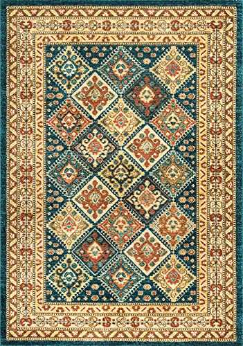 nuLOOM Cyndi Tribal Tiles Area Rug