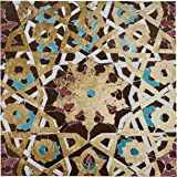 "Metallic Bronze Mandala Print, 30"" x 30"""