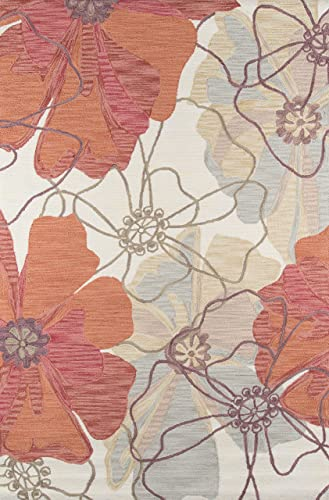 Momeni Rugs Summit Collection, Hand Knotted Transitional Area Rug, 8 x 10 , Sand