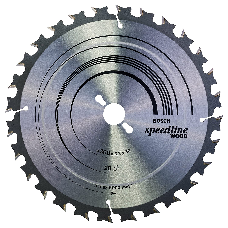 Bosch Professional Zubeh/ör 2608640800 Kreiss/ägeblatt Speedline Wood 190 x 30 x 2,6 mm 12