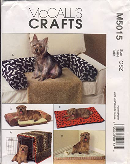Amazon.com: McCall Crafts Sewing Pattern 5015 - Use to Make - Pet ...