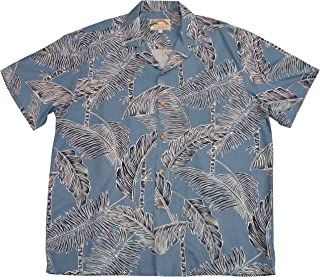 product image for Paradise Found Mens Tree Tops Shirt Blue 5X