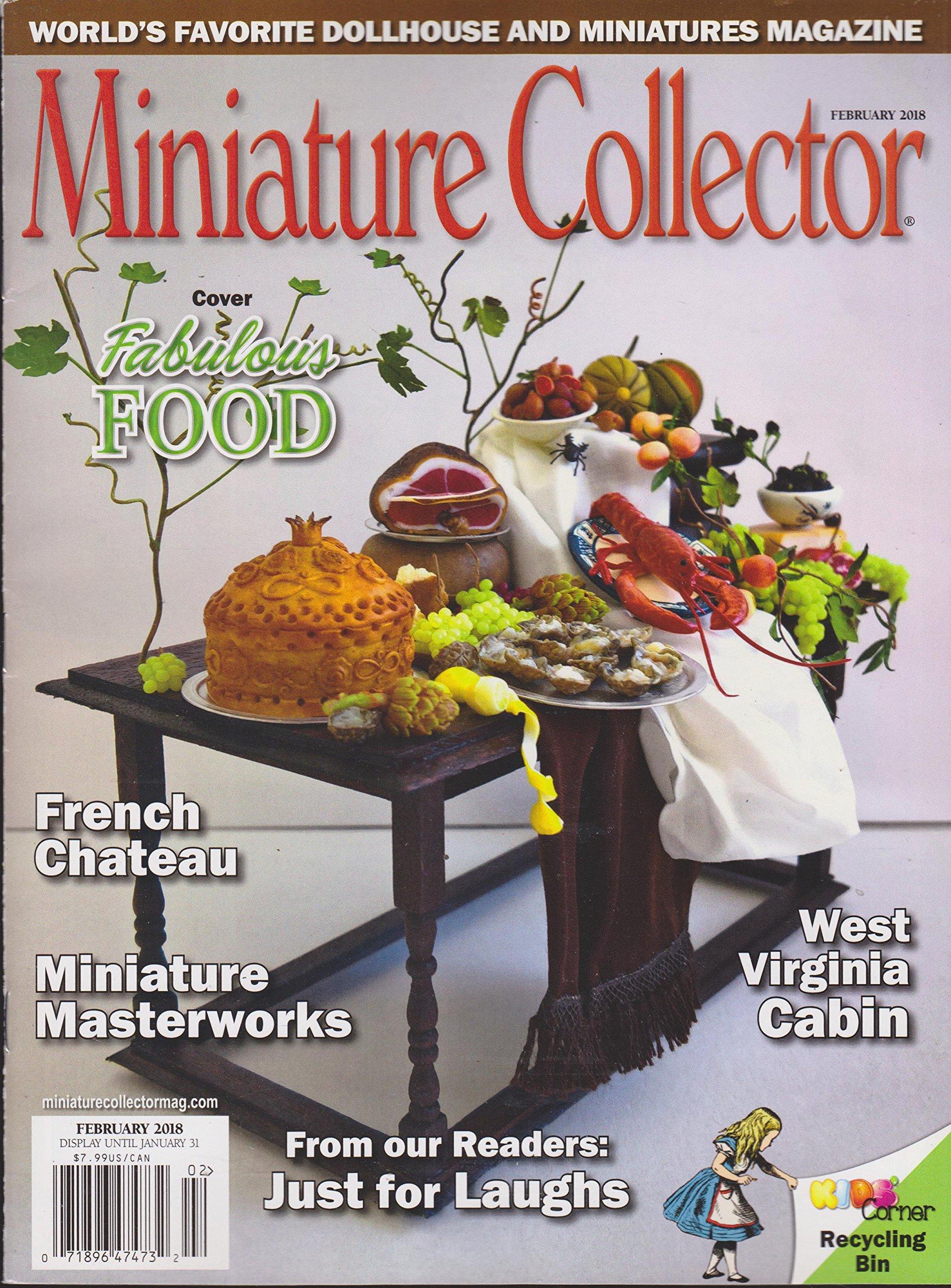 Miniature Collector Magazine Feb  2017