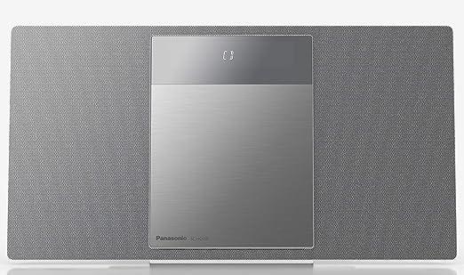 Panasonic SC-HC410EG-S- Microcadena para Hogar (40 W, Space Tune ...