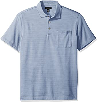 c2c64e1ef8b48 Van Heusen Men s Jacquard Short Sleeve Polo at Amazon Men s Clothing ...