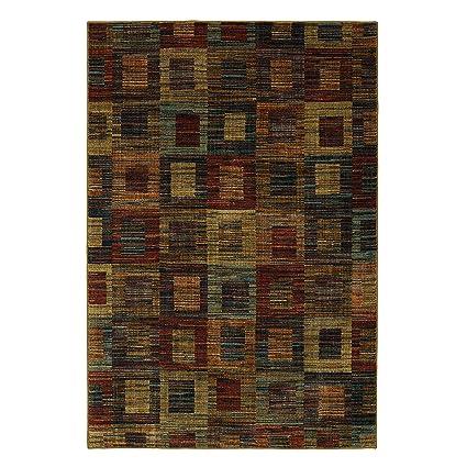 Amazon Com Mayberry Rugs Fl91048 8x10 Finley Square Contemporary