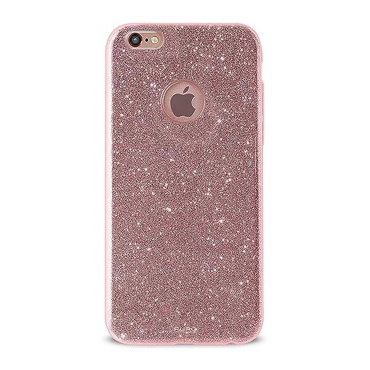 21 opinioni per Puro Cover PC+TPU Shine per iPhone 7 Plus Oro Rosa