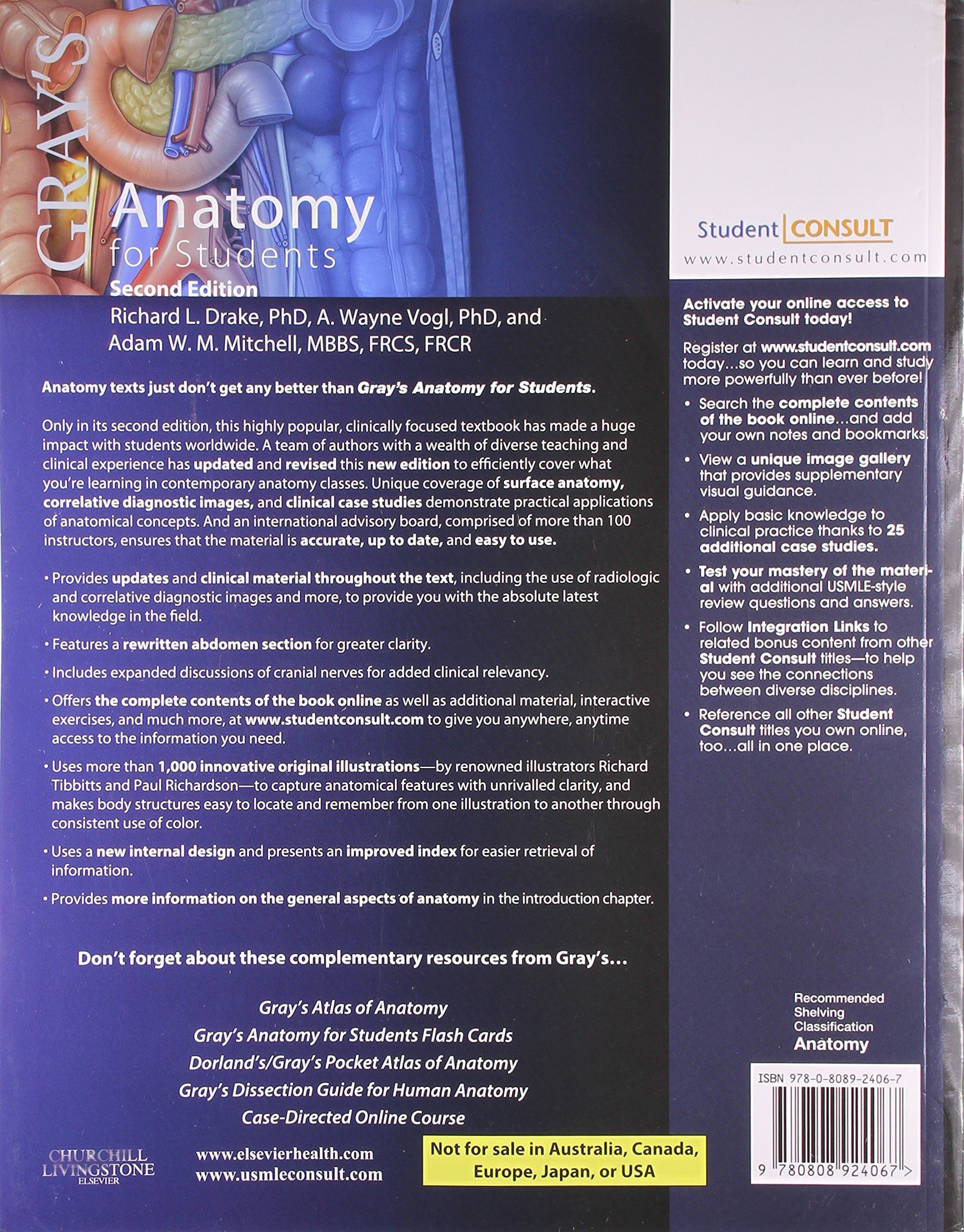 Gray\'s Anatomy for Students: Richard L. Drake: 9780808924067: Amazon ...