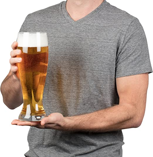 Oversized Extra Large Giant Beer Glass - 53oz