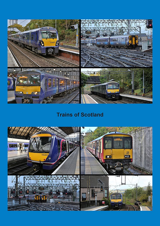 Emu Calendar.Trains Of Scotland 2016 A4 Wall Calendar Emu Dmu Trains On Scotlands National Rail Network