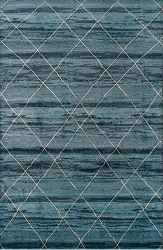 Superior Designer 5' x 8' Cullen Collection Area Rug