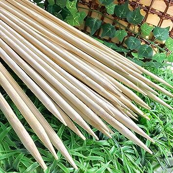 eecotick mejores opciones de pinchos de bambú barbacoa grillig