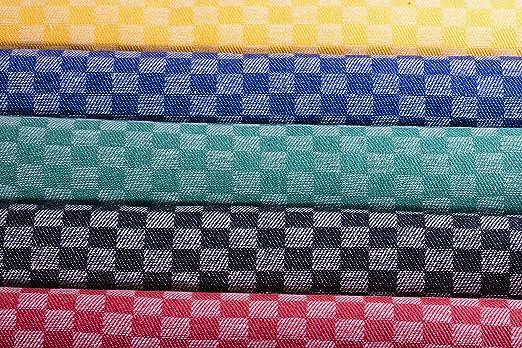 200g m² 50 x 100cm Strapazierfähige 100 /% Baumwolle 10 x Grubentücher