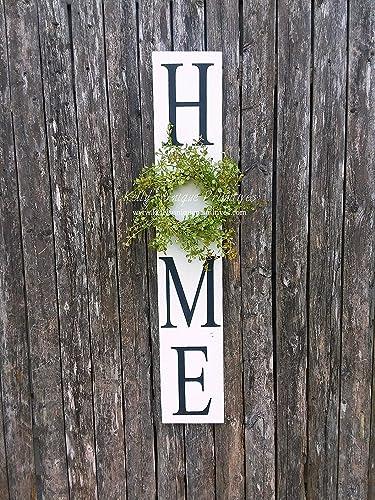 Farmhouse Framed Sign Rustic Wall Decor Farmhouse Decor Home Painted Sign,Farm Sign Home Sign Housewarming Gift Farm Home Sign