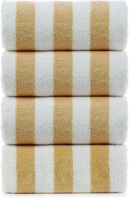 Organic Striped Towel 180x100 cm 70x40 Cotton Beach Towel Tablecloth Dblg-Trml Pool Towel Bathtowels Green Striped Turkish Towel