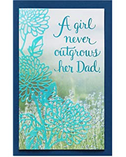 American Greetings My Hero Birthday Card For Dad From Daughter With Foil