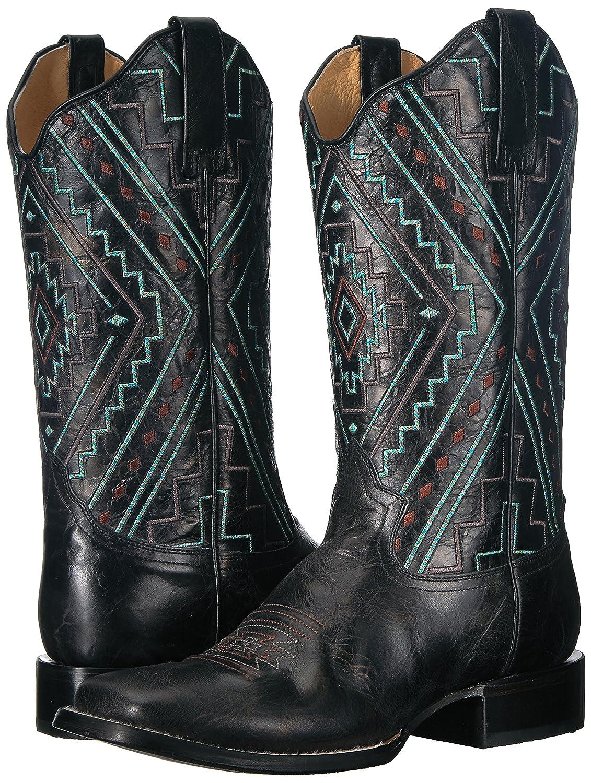 Roper Women's Native Western B(M) Boot B076TP1KLV 6 B(M) Western US|Black 5e8697
