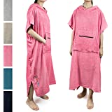 SUN CUBE Surf Poncho Changing Robe with Hood | Terry Cotton Changing Towel