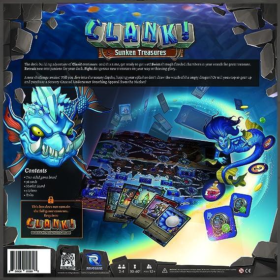 Renegade Game Studios rgs00569 – de Tablero Clank: Sunken ...