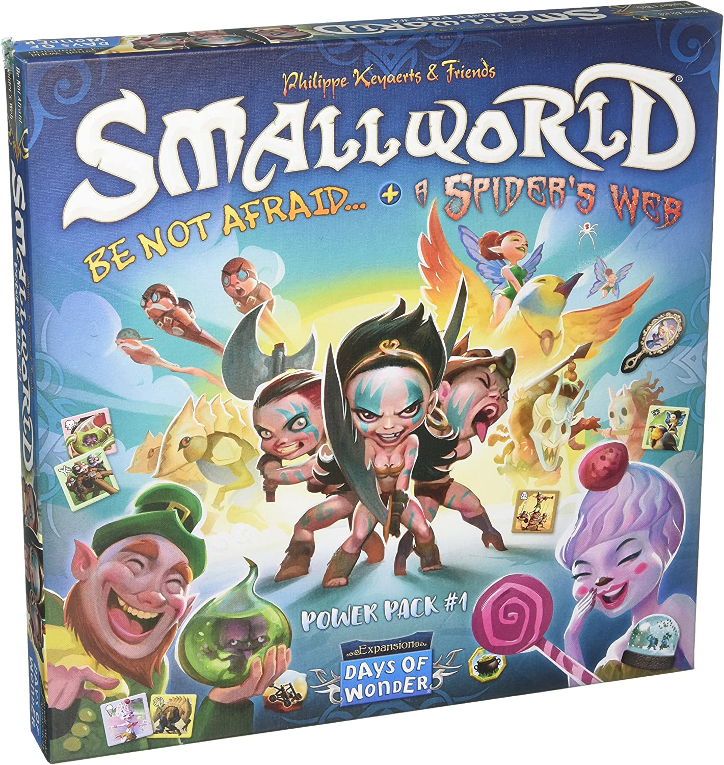 Days of Wonder Small World Race Collection Power Pack 1 - English ...