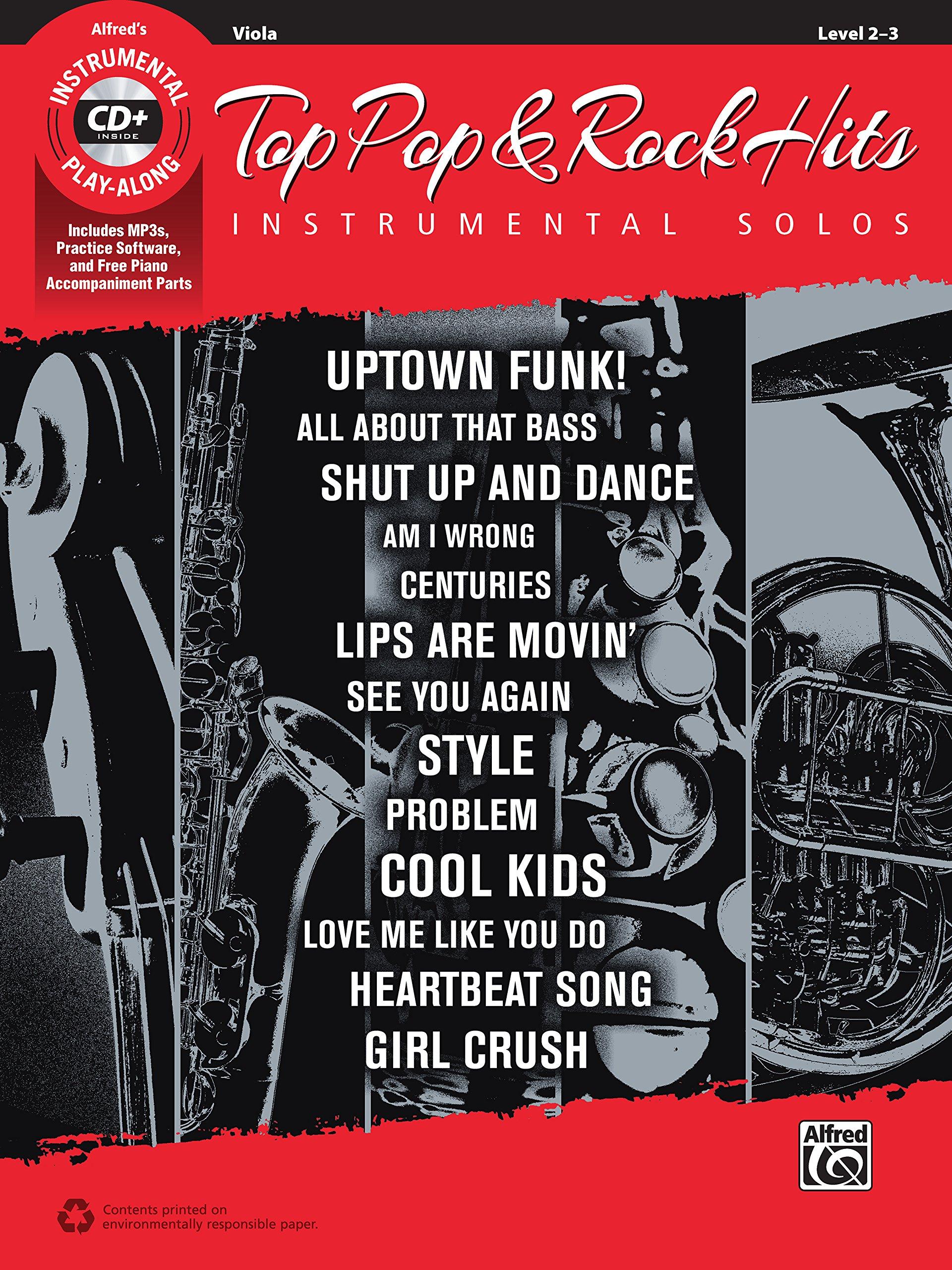 Top Pop & Rock Hits Instrumental Solos for Strings: Viola, Book & CD (Top Hits Instrumental Solos Series) Text fb2 ebook